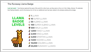 Llama Levels by TheStockWarehouse