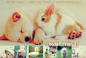 Small things - icon bases by amber-necklace