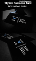 Stylish Business Card by KRONTM