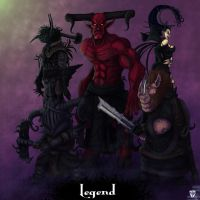 Legend bad guys color by josesami