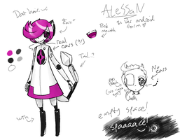ALeSSaN android ref by Crazy-Daydreamer
