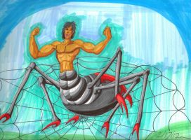 Man Spider 12-17-2 by Lisa22882