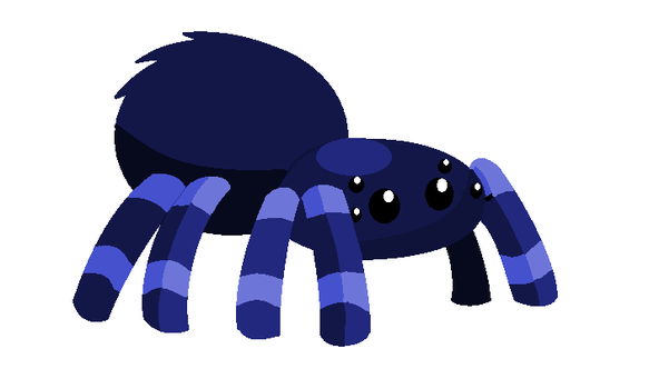 Spider (paint) by ArhereArtPL