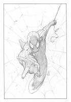 Spiderman commission pencils by FlowComa