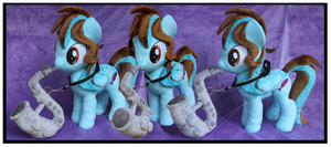 Commission: Tale Spinner OC Custom Plush by Nazegoreng