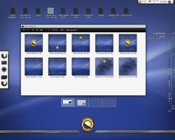 Fedora 12 Animated Pack Background by AVDuma