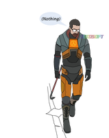 Gordon Freeman by CsioSoft