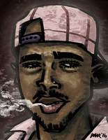2pac Hat by gaudog