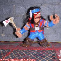 Nightwolf Figure by the-gil-monster