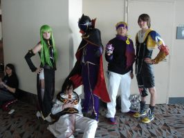 Otakon 2012 Code Geas+Morty+Tidus by Ho-ohLover