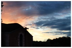 Sunset over Juelich by dj-corny