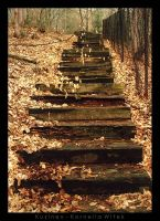 the old stairs by Kuzinex