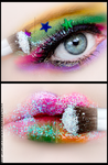 make-up by lashingtail