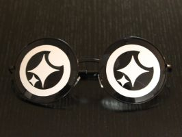 Anime Chibi Sunglasses - Sparkle Eyes by TheHeartofJapan