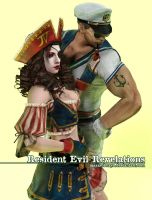RE: Revelations - Pirate Jill x Sailor Chris by MayaRokuaya