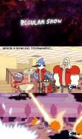 Regular Show- Bowling by DancetilDawn7
