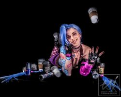 Caffeinated Jinx by britthebadger