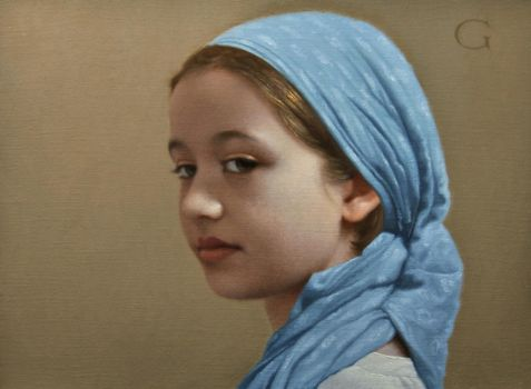 David Gray - Hannah by OilPaintersofAmerica