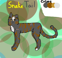 Snaketail, Warrior of PineClan by Little0rca
