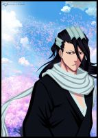 Bleach. Kuchiki Byakuya by Xset