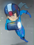 Megaman by dududoctor