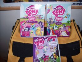 Friendship is Magic DVDs by MasteroftheContinuum