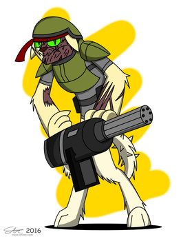 Commission: Rex 'Bad' Bruno by Dronehunter19
