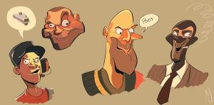 Rubberfruit Faces by dodgyrommer