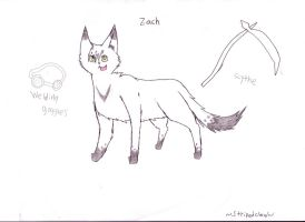 Zach refrence sheet by Stripedclaw