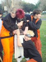 Gaara and Narutoz by WillowTreeWitch