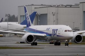 ANA Boeing 787 Taxi by shelbs2
