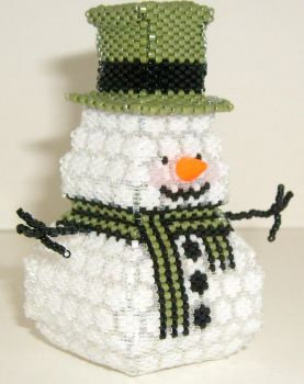 Snowman Box 3 - SOLD by JustBelieveCreations