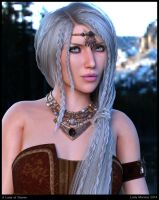 A Lady of Skyrim by Lady-Morana