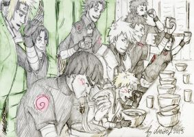 Ramen Party by Sanzo-Sinclaire