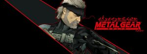 METAL GEAR: OLD SNAKE by akyanyme