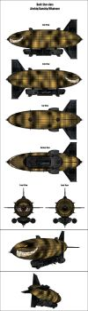 Fallout Equestria: Dark Star-class Airship by Stholm