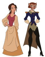 Treasure Planet Womenz by julvett