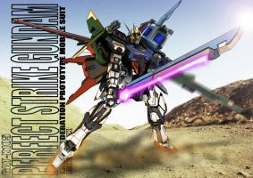 GAT-X105 Perfect Strike Gundam by romerskixx