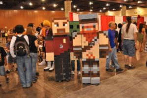 Minecraft Yogscast Cosplay 2 by Auzrill