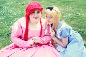 Disney - Ariel and Alice by CherryMemories