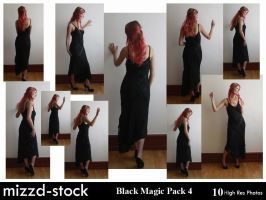 Black Magic Pack 4 by mizzd-stock