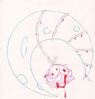 O.C.D. Moon Rose by graphicalCatharsis