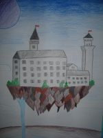 Floating Castle by DuckHunter111