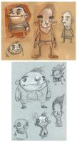 Sketches from Class by Axel13-Gallery