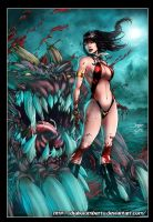 Vampirella by diabolumberto