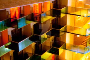 Colorful Balconies by IGORLUKAS