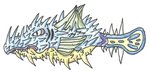 Fakemon - Qwilfish Evo by UltimateRidley