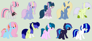 All My Ocs by XxSnowBellxX