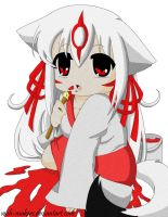 +Amaterasu- Paint Spill+ by Wish-Makers