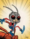 A is for ANT-MAN! by thecheckeredman